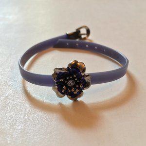 Flower Watch-Style Bracelet